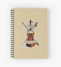 D&D - Bard - Words Are My Weapons Spiral Notebook