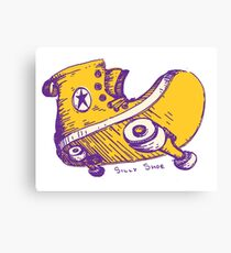 Silly Shoe Canvas Print