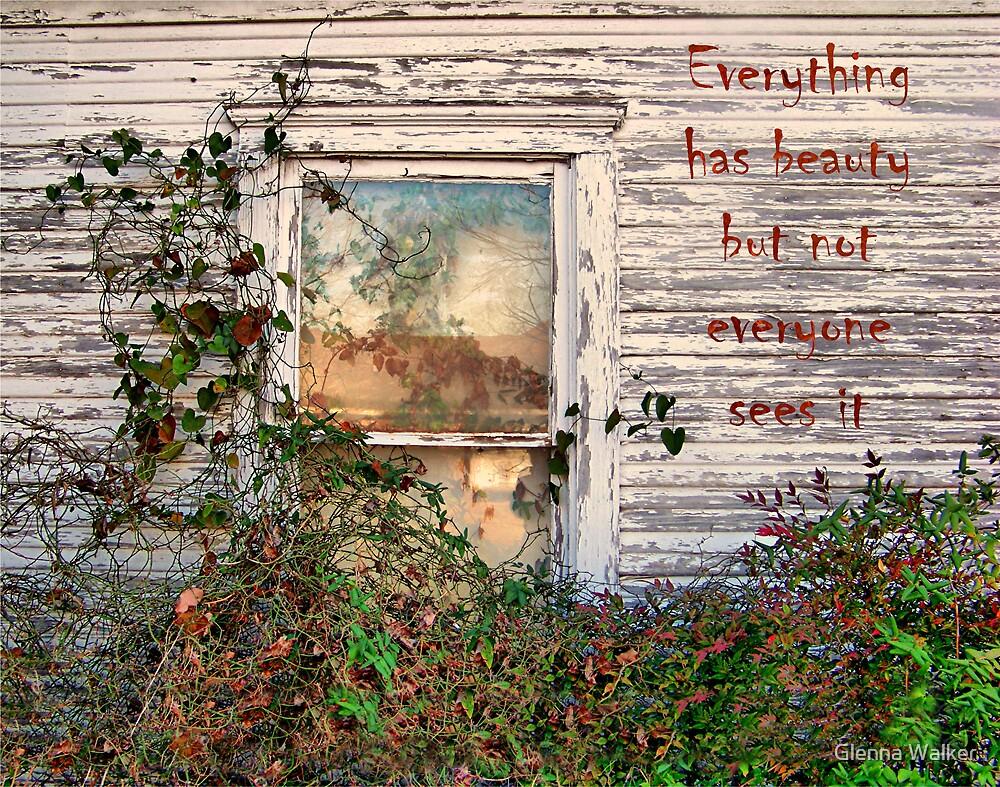 Beauty Unseen by Glenna Walker
