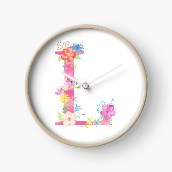 Letter L Clock