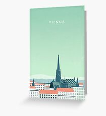 Vienna Greeting Card