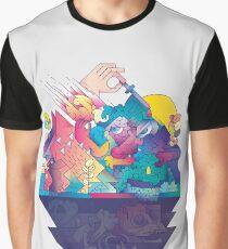 Rot im Zahn und in der Klaue Grafik T-Shirt