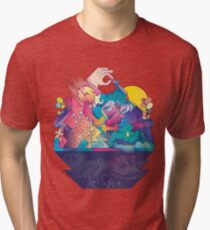 Red In Tooth And Claw Tri-blend T-Shirt