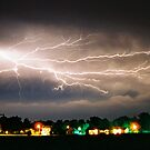 Lightning - Maroa, IL by Eric Cook