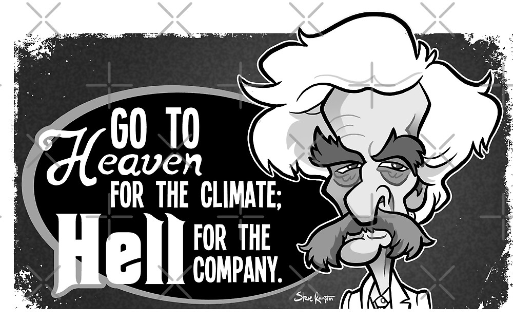 Twain Heaven and Hell by binarygod