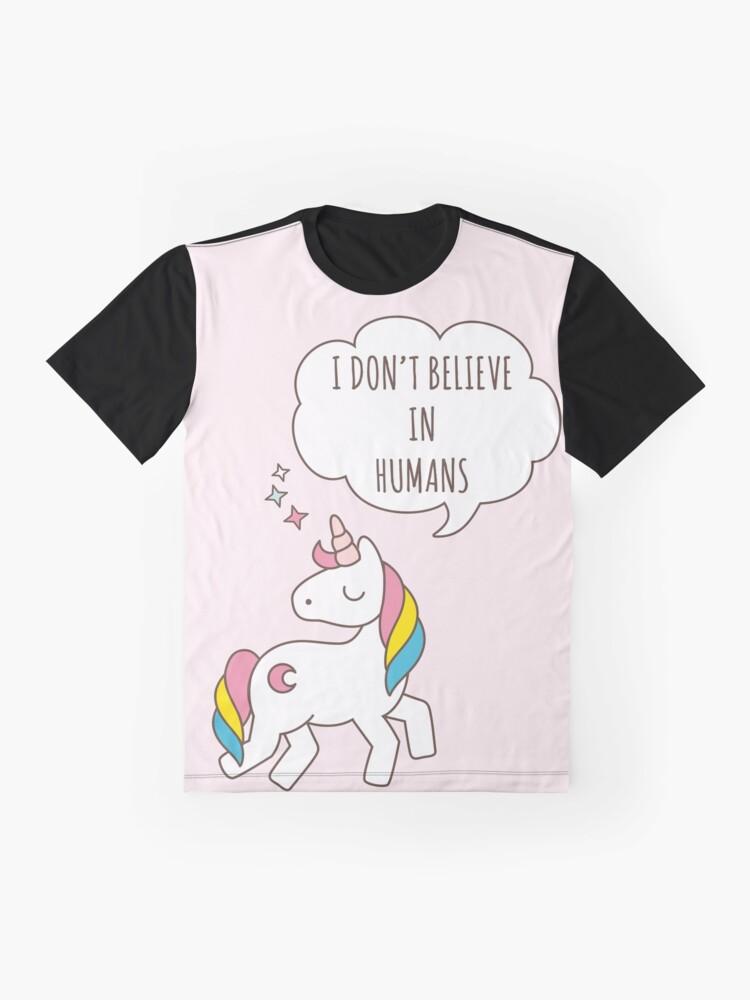 Alternate view of Unicorn Graphic T-Shirt