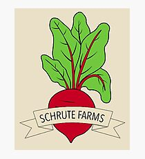 Schrute Farms Logo Photographic Print
