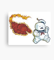 RUN MARSHMALLOW MAN - 0292 Metal Print