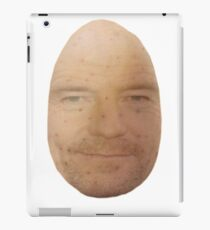 Bryan Cranston: the most dashing potato man iPad Case/Skin