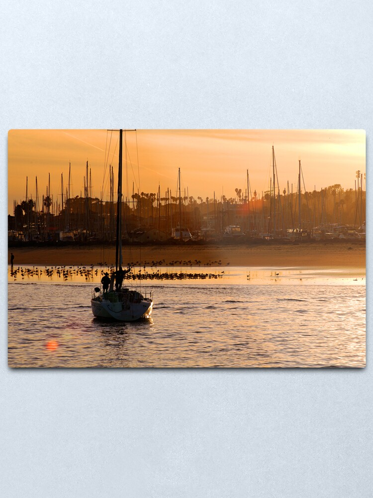 Alternate view of At Rest After A Long Day Metal Print