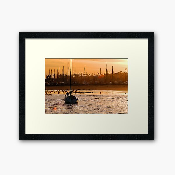 At Rest After A Long Day Framed Art Print
