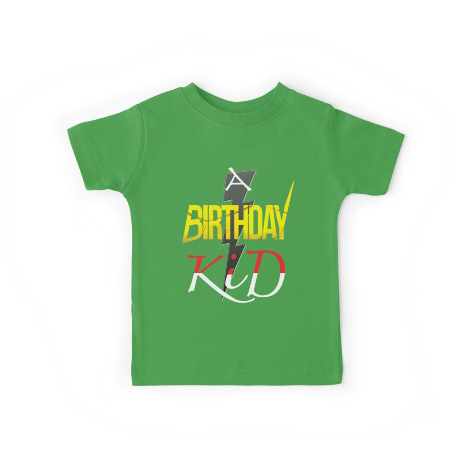 A Funny Birthday Boy Kid T Shirt