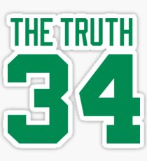 paul pierce the truth Sticker