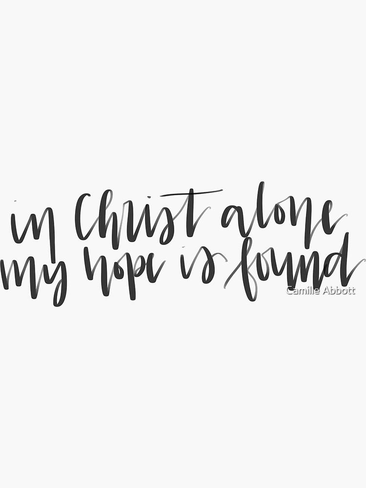 In Christus allein von CamilleAbbott
