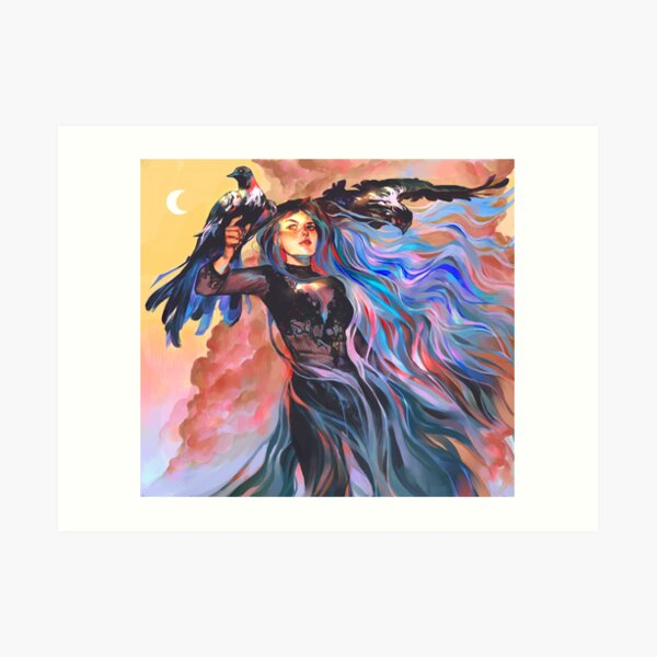 Witch Art Prints Redbubble