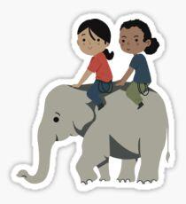 Chloe & Nadine - Elephant Sticker