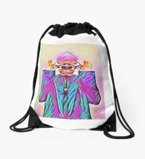 Spin The Bottle In Your Brain Drawstring Bag