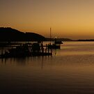 Sunrise at Nungurner Jetty by Nigel Roulston
