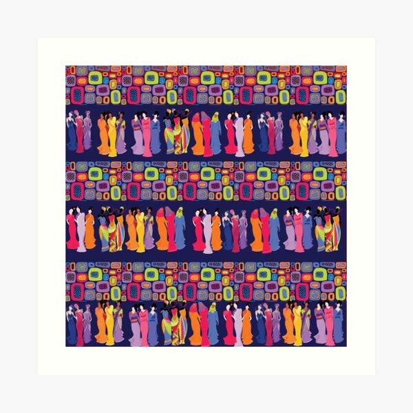 Worldwide Sisterhood Art Print