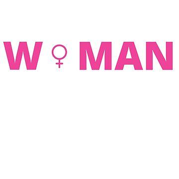 Feminist T-shirts  ALPHA Woman Symbol Shirt by tuffkitty
