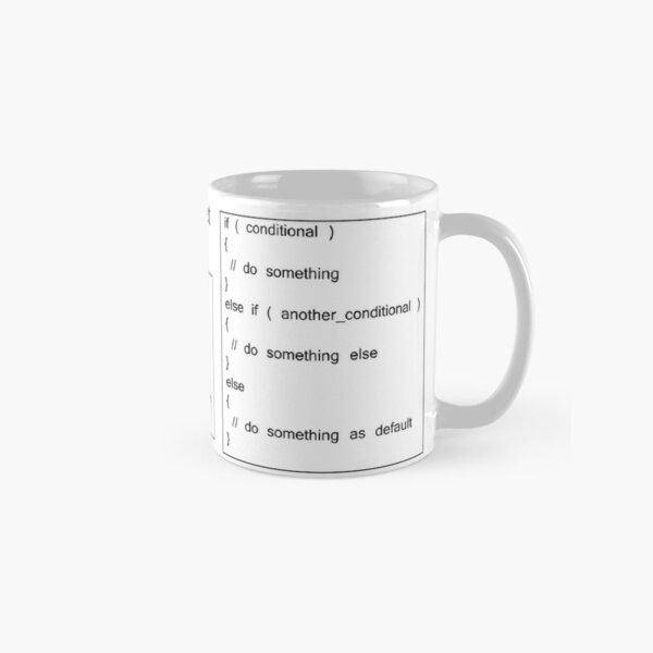 C and C++ Cheat Sheet: Control Flow Classic Mug