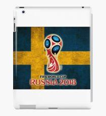 World Cup Sweden iPad Case/Skin