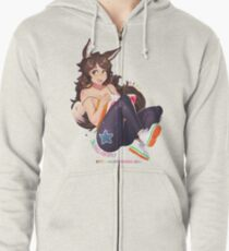 Read Everything Zipped Hoodie