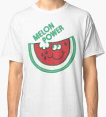 Watermelon Melon Power Funny 1980's Classic T-Shirt