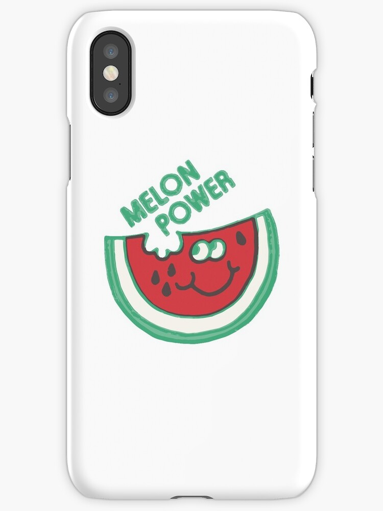 Watermelon Melon Power Funny 1980's by neonfuture