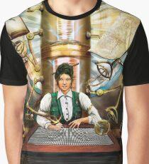 Steampunk Engineer Graphic T-Shirt
