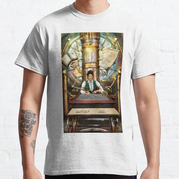 Steampunk Engineer Classic T-Shirt