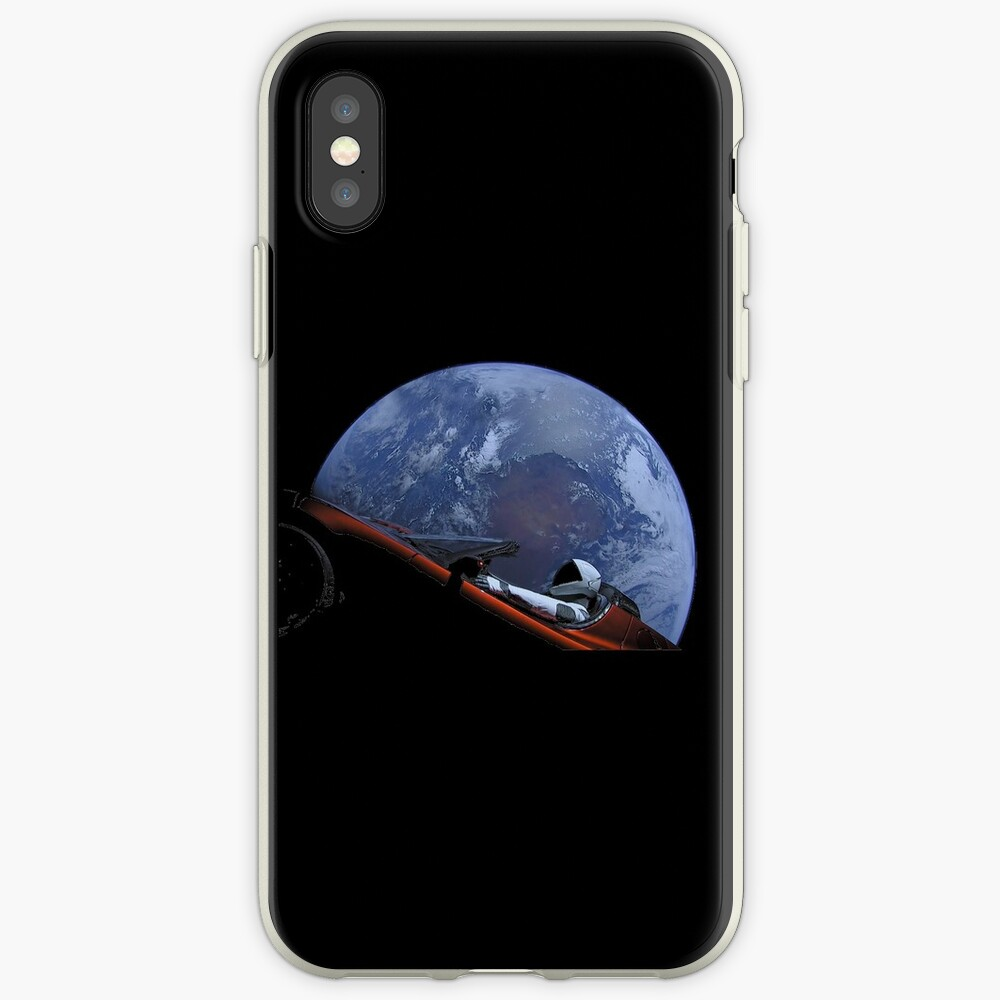 Spacex Starman im Orbit iPhone-Hülle & Cover