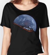 Spacex Starman In Orbit Women's Relaxed Fit T-Shirt