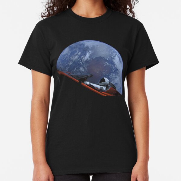 Spacex Starman In Orbit Classic T-Shirt