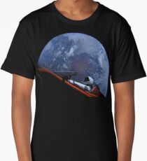 Spacex Starman In Orbit Long T-Shirt