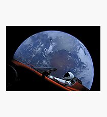 Spacex Starman In Orbit Photographic Print