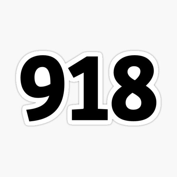 918 Sticker