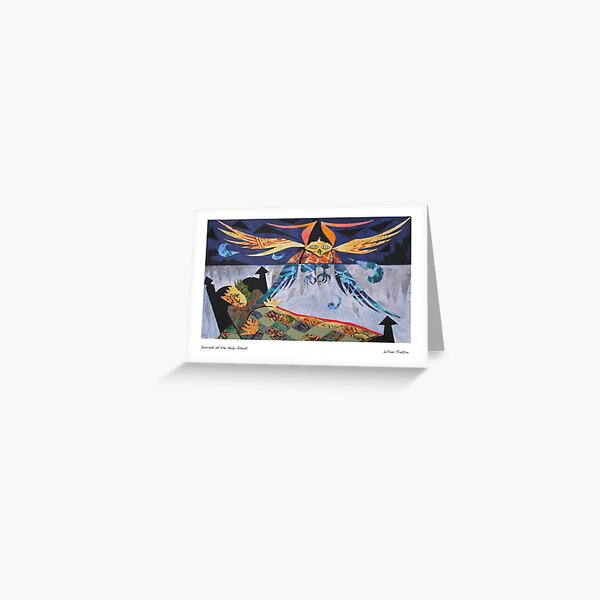 Descent of the Holy Ghost Greeting Card