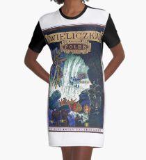 Wieliczka, Poland, vintage travel poster Graphic T-Shirt Dress