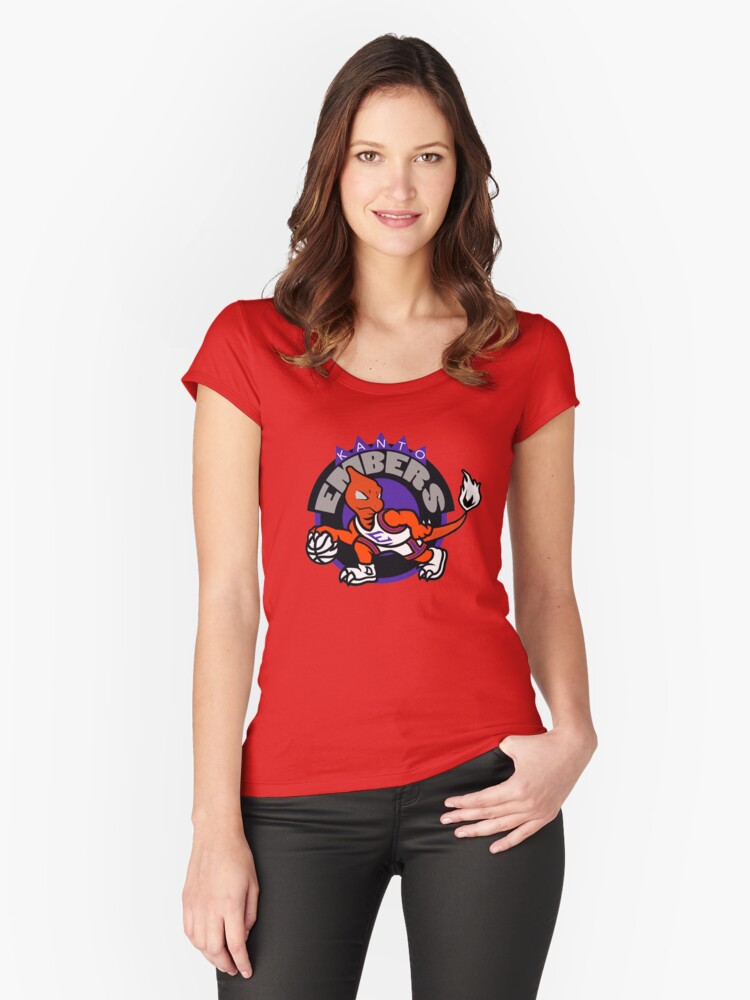 Kanto Embers Women's Fitted Scoop T-Shirt Front