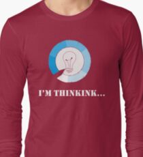 I'm thinking,Funny Shirts Sayings Boyfriend Present Funny Cardio Shirt Funny School Shirt Business Women Shirt Trendy Graphic Tee Long Sleeve T-Shirt