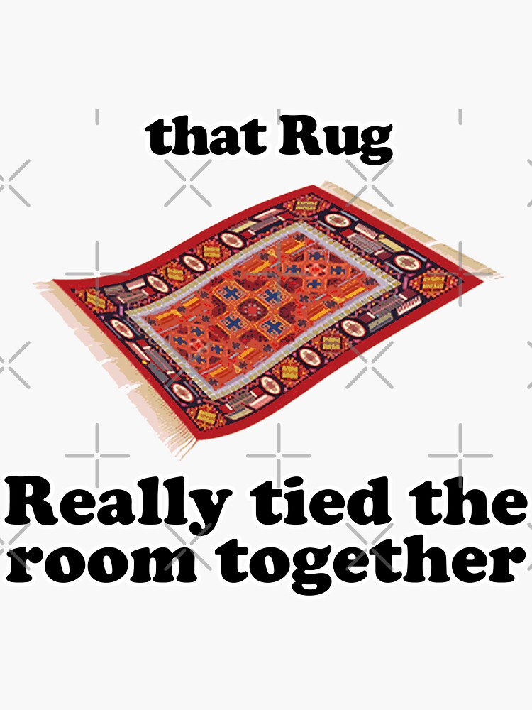 that rug really tied the room together by JTK667