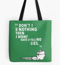 Huck Finn Quote Tote Bag