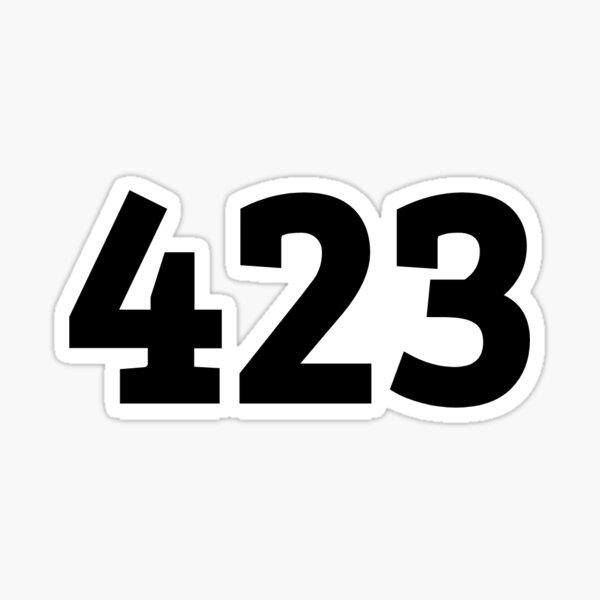 423 Sticker