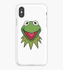 Kermit the Frog Cute Green iPhone Case