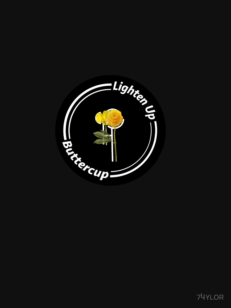 Lighten Up Buttercup - Hippo Campus Logo  by 74YLOR