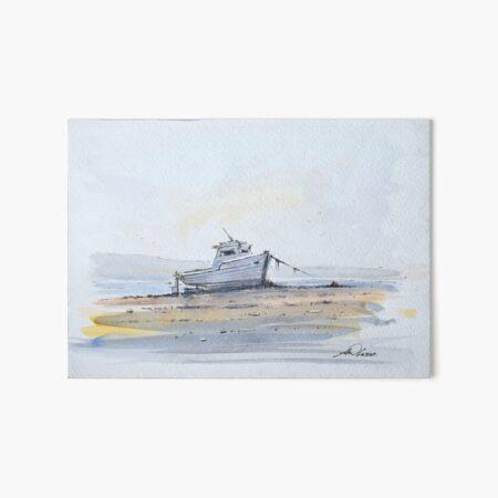 Estuary Sands Art Board Print