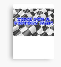 Time for a victory nap! Canvas Print