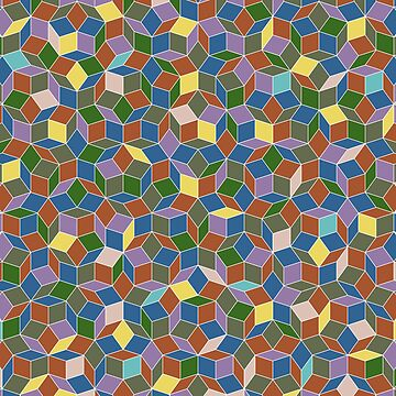 Stained Glass Penrose Tiling by paulwaters