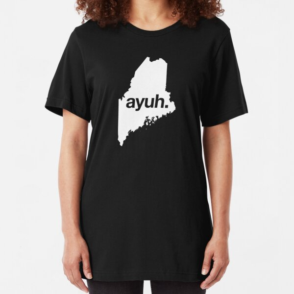 Ayuh - The Maine Word Slim Fit T-Shirt